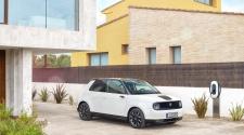 White Honda e