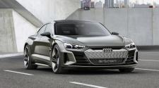 Audi e-tron GT concept in Kinetic Dust colour