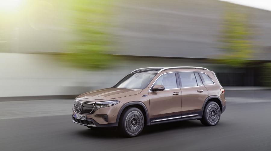 Mercedes-Benz gold EQB