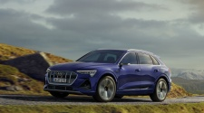 Audi e-tron with S line exterior package
