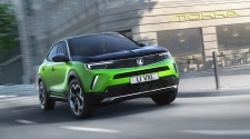 Green Vauxhall Mokka-e