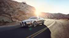 BMW i4 concept driving